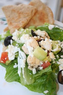 Try this Greek Salad for a healthy and tasty lunch. Stay on track through the holidays!