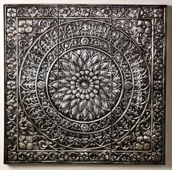 Amaryllis Metal Wall Decor - #HomeDecorator