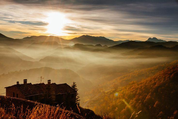 10 cosas que hacer en el Berguedà: Disfrutar de una puesta de sol en Castellar de n'Hug