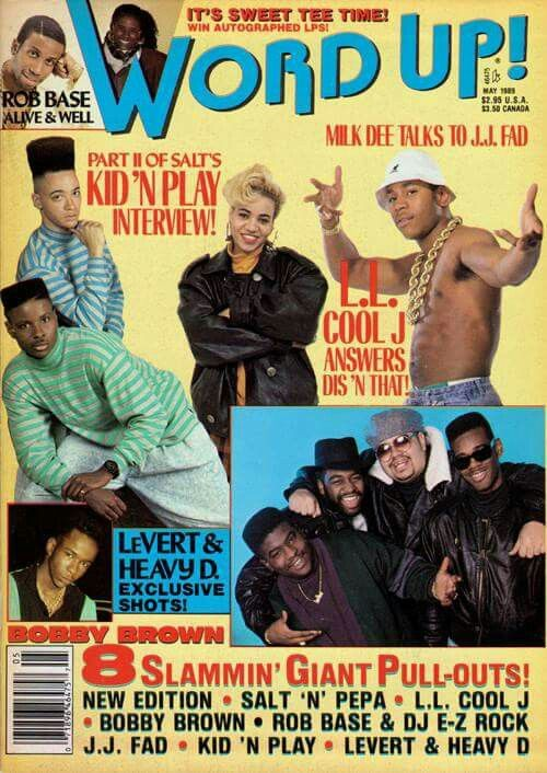"""It was all a dream I used to read """"Word Up!"""" magazine , Salt-N-Pepa And Heavy D up in the limosine.-Notorious BIG #hiphoplegend"""
