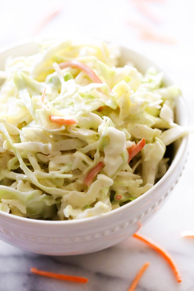 Classic Coleslaw   Chef-in-Training   is a staple! If you are looking for the perfect coleslaw recipe, look no further because this is it! It is so easy and SO delicious!