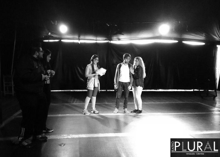 Ensayo en el Teatro Taller de Colombia. #QueTiemposAquellos #EnBogotáEsLaCosa