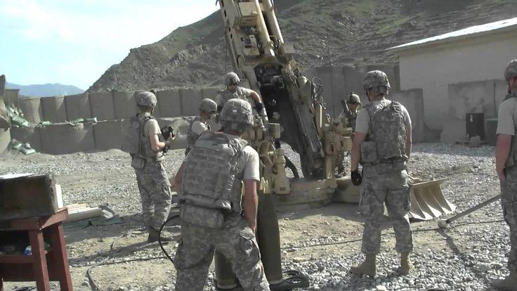 M777 Howitzer Firing Bravo Battery 3-321 HD Video 4