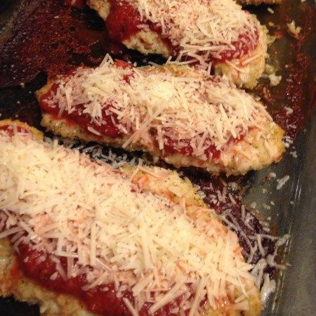 Chicken Parmesan - 21 Day Fix Approved