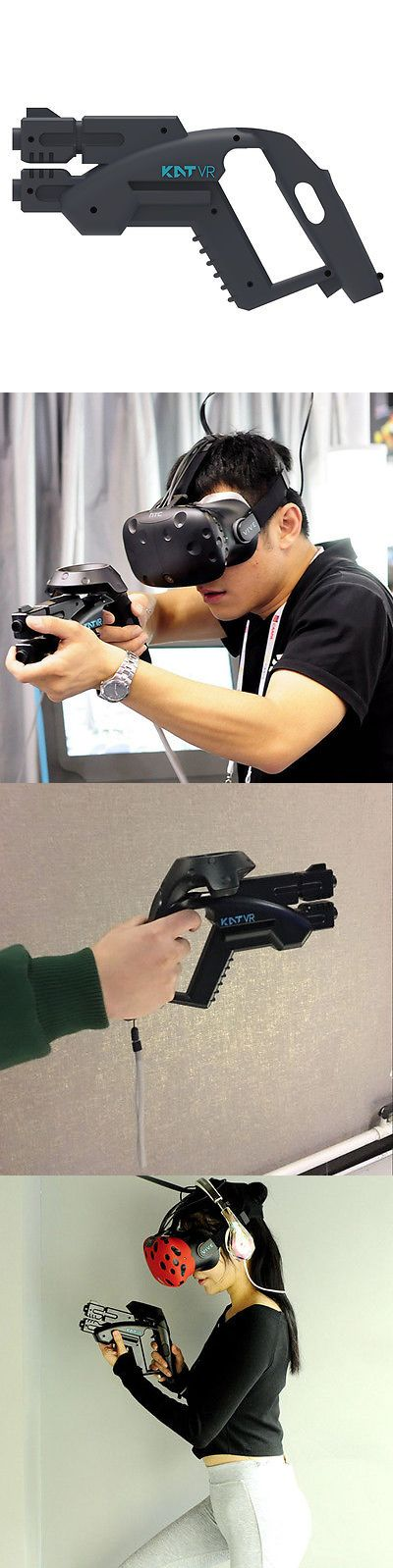 Other Virtual Reality Accs: Kat Vr Handgun Shooting Game Small Pistol Gun Controller For Htc Vive Vr Shop -> BUY IT NOW ONLY: $55 on eBay!