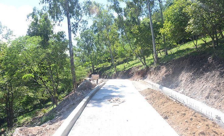 Listo en diciembre primer sendero del parque Juana Laínez - Diario La Tribuna