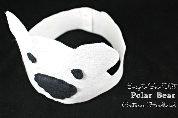 Learn and play Polar Bears with this cute, easy to sew Polar Bear Costume Headband for Kids! Make APolar Bear Costume Headband Materials Needed for Polar Bear Costume Headband: White, and black felt. Thread Needle Scissors Directions How to Make a Polar Bear Costume Headband: 1. Cut the pieces out of felt. 1 white headband …