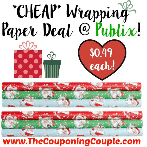 WOOHOO ~ GREAT PRICE TO WRAP ALL THOSE GIFTS! *CHEAP* Wrapping Paper Deal @ Publix!  Click the link below to get all of the details ► http://www.thecouponingcouple.com/cheap-wrapping-paper-deal-publix/ #Coupons #Couponing #CouponCommunity  Visit us at http://www.thecouponingcouple.com for more great posts!