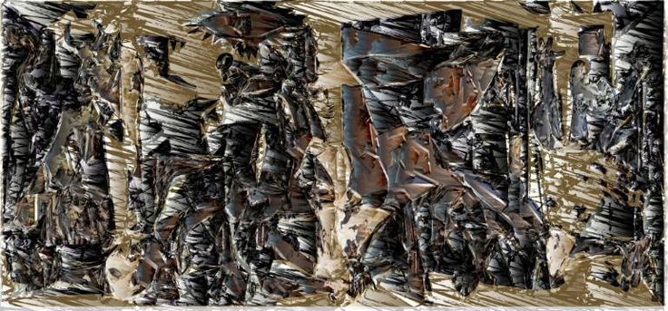 "Saatchi Art Artist JACEK TOFIL; New Media, ""my private Guernica"" #art"