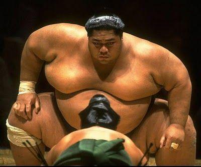 小錦!!! Sumo - Konishiki!
