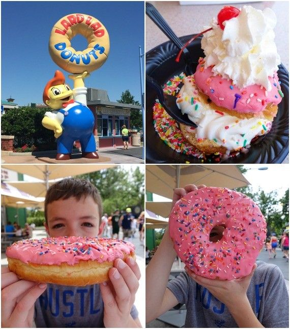 The Big Pink from Lard Lad Doughnuts in UNiversal Studios