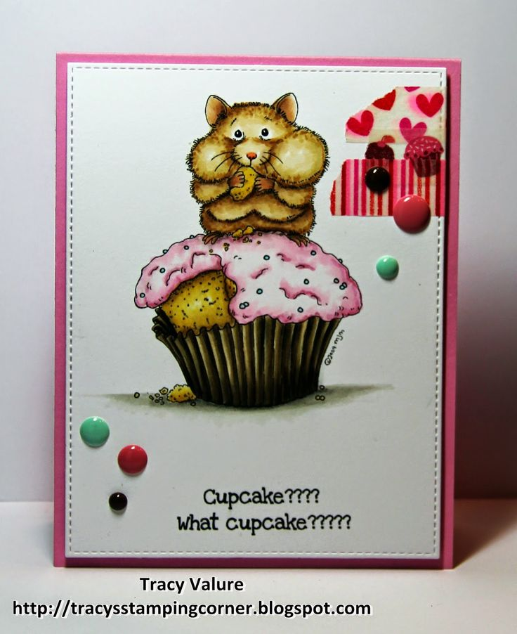 Tracy's Stamping Corner: Cupcake??