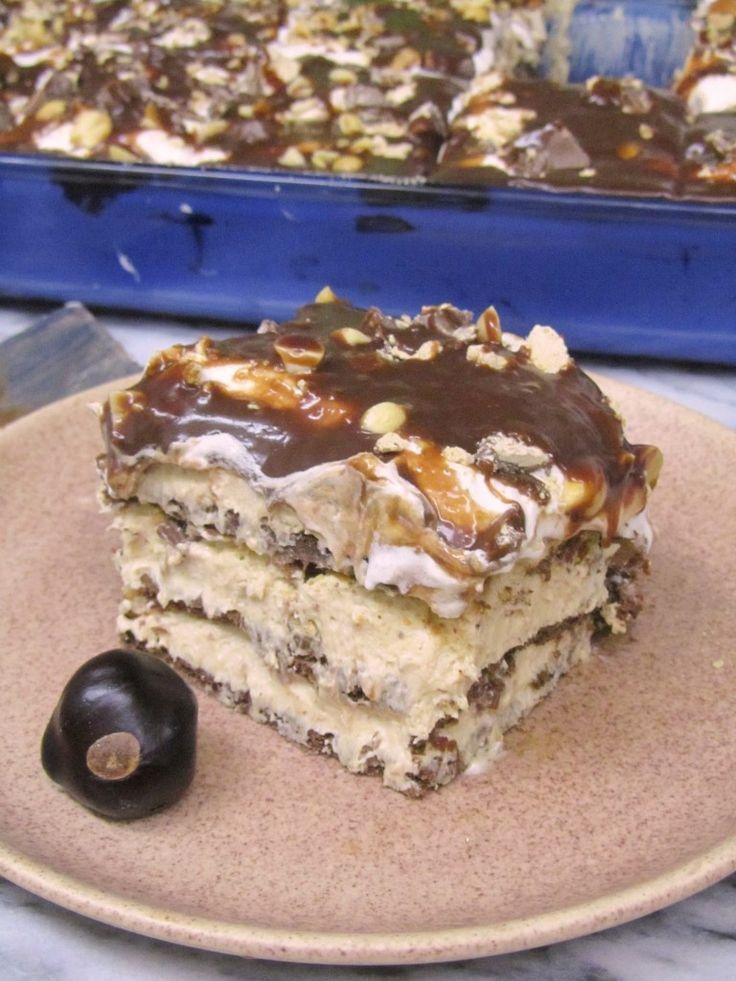 Chocolate Peanut Butter Cup Lasagna 2