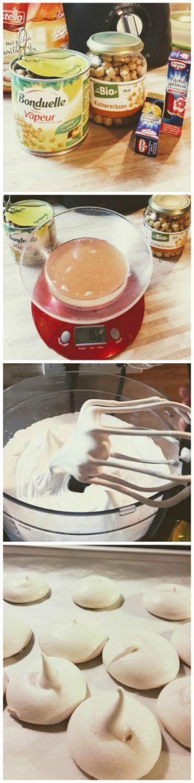 Vyskúšali sme vegánske snehové pusinky bez vajec. Namiesto nich sme použili aquafabu - nálev zo strukovín. Dopadlo to dobre. Vyskúšajte si to doma, budete príjemne prekvapené:)