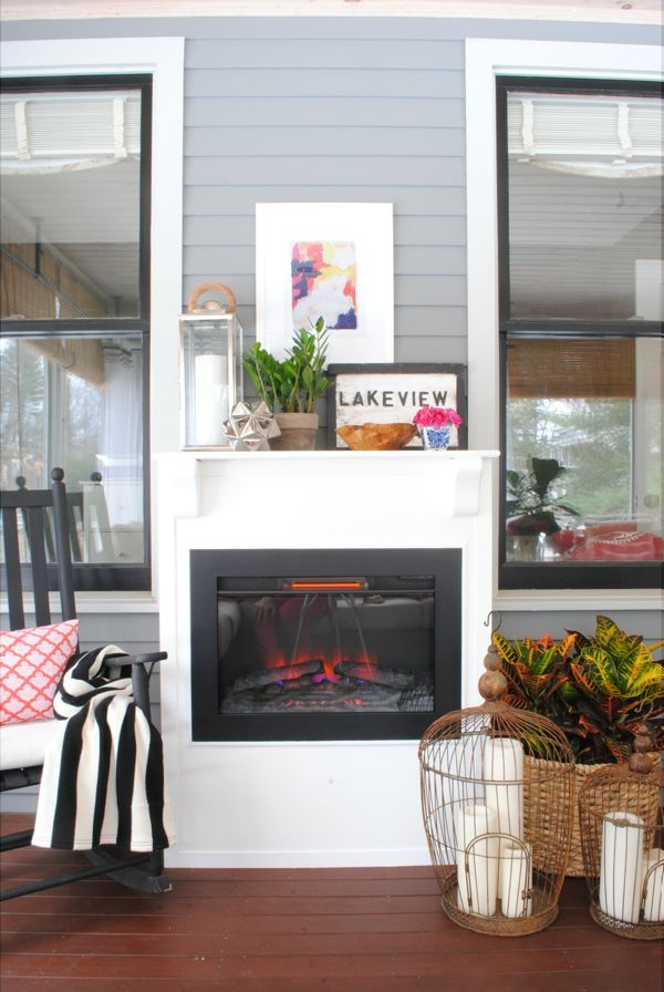 Best 25 fireplace on porch ideas on pinterest porch fireplace sunroom addition and rustic - Creative deck storage ideas integrating storage to your outdoor room ...