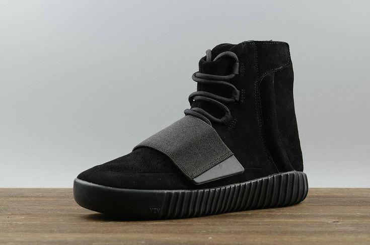 70084a842dd16 ... Half off Fashion New Arrival adidas Originals Yeezy 750 Boost All Black  BB1839