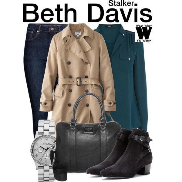 Inspired by Maggie Q as Beth Davis on Stalker.