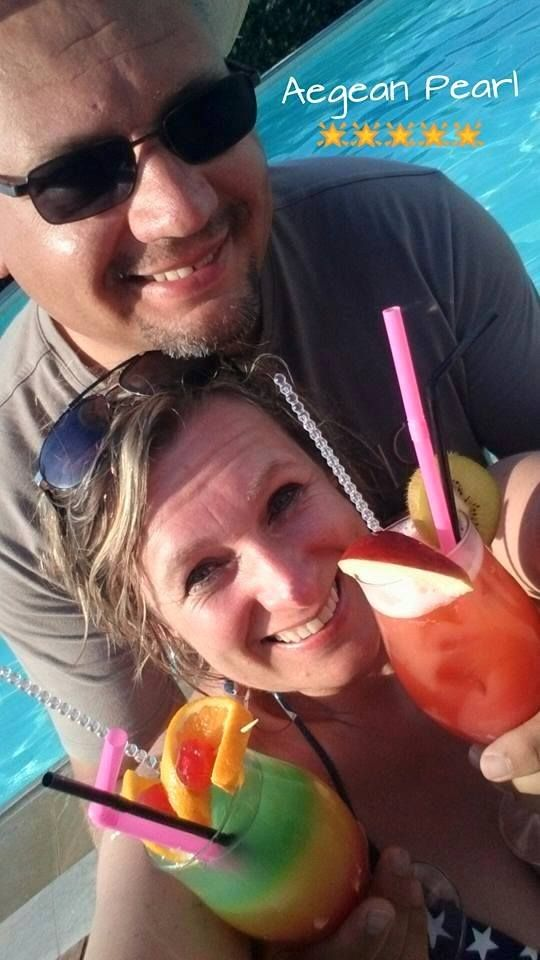 #Pearlhotels Τοp Guest Photo of the Week contest Week to 12/7/2015 (GPOW2) - **WINNER** Christelle Opsomer. Title: ''Cocktails by the Pool... Where else? Sentido Aegean Pearl!''. https://www.facebook.com/SentidoAegeanPearl/photos/pcb.911968492177815/911965345511463/?type=1