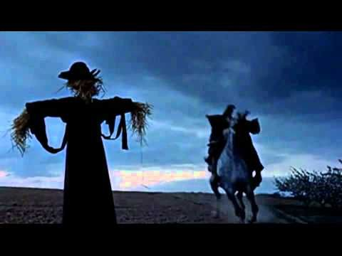 """Not your typical Disney fare, """"The Scarecrow of Romney Marsh,"""" starring Patrick McGoohan, was much scarier than """"Zorro."""" (This was the best video I could find. The song repeats once, using slightly different footage.)"""