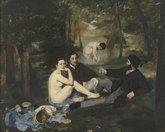 Le déjeuner sur l'herbe - Manet - Orsay - 19è - Impressionnisme