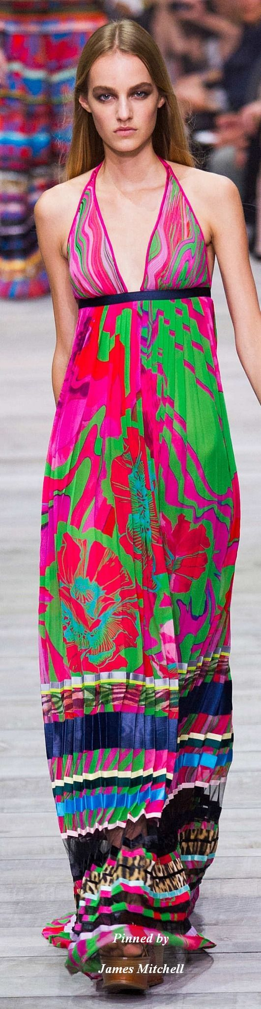Roberto Cavalli Collection Spring 2015