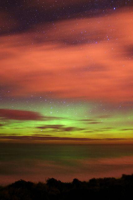 Aurora Australis - Tainui, Dunedin, Otago, New Zealand