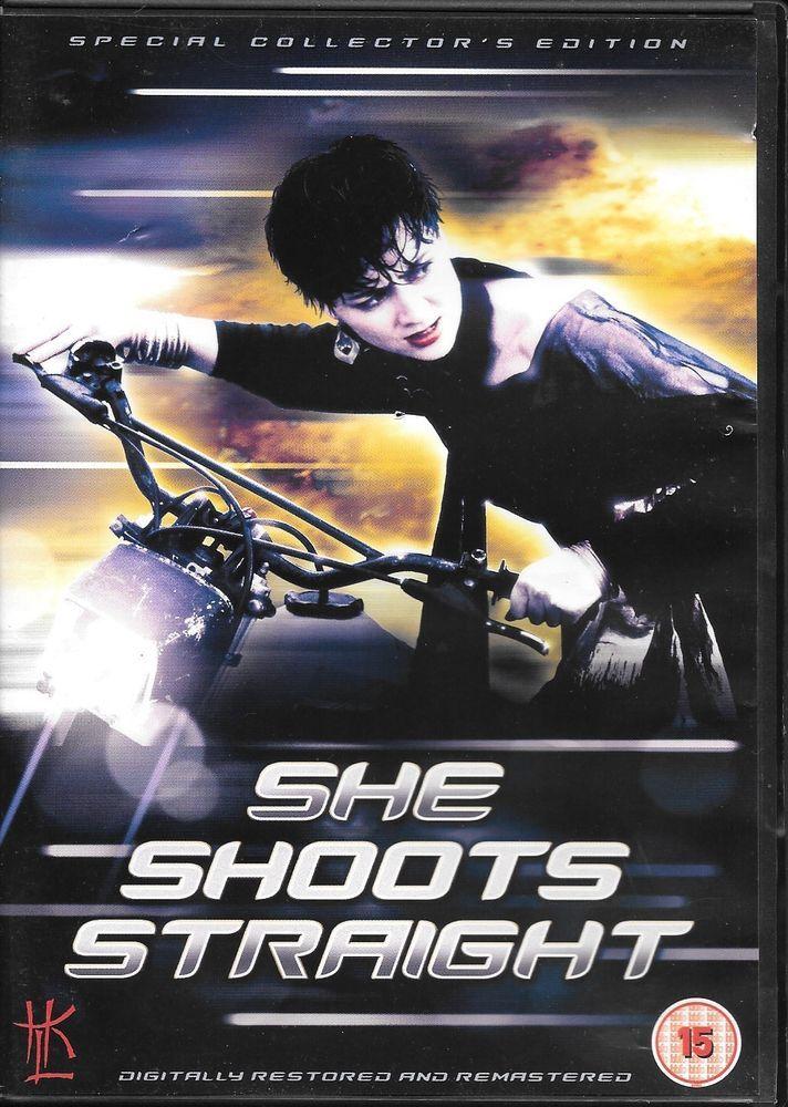 She Shoots Straight (PAL UK DVD Region 2) Joyce Godenzi HKL hong kong legends