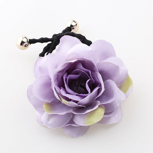 MISM Cute Simulated Flower Elastic Hair Band For Girls Boho Style Floral Women Scrunchy Accessories Tie Rope Ponytail Headwear