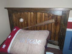 baseball bat headboard full - Google Search