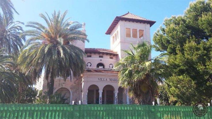 """Villa María. El estilo #afrancesado de cada una de estas #villas de Benicàssim, así como la presencia en ellas de personajes reconocidos de la alta sociedad, generaría el apodo de #Benicàssim como el """"Biarritz de #Levante""""."""