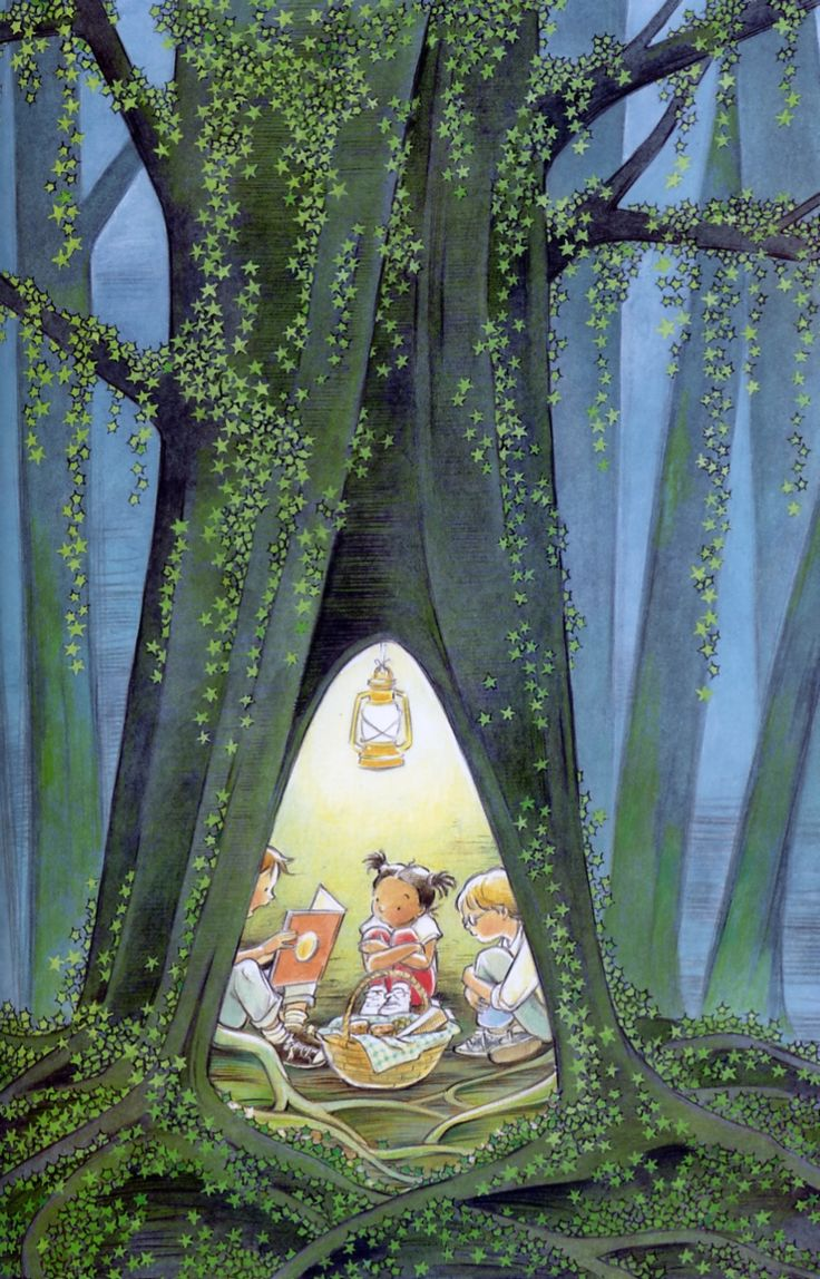 Fairy tales book group. Illustration by Marla Frazee.