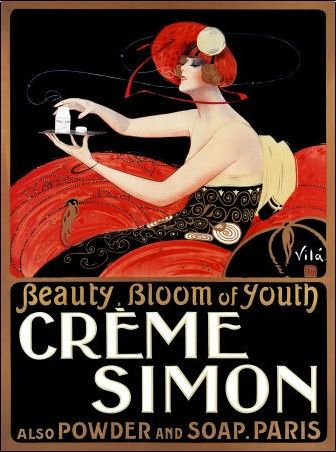 Emilio Vila - Creme Simon advertising, 1920s.
