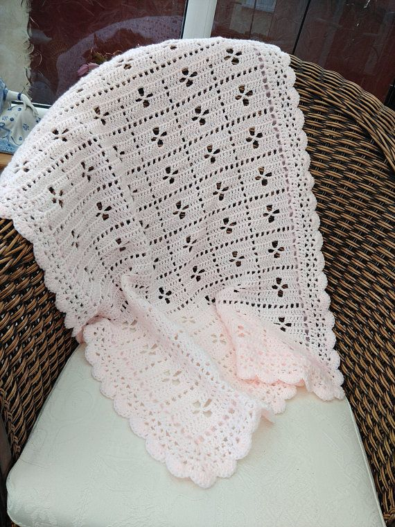 Vintage Style Hand Crocheted Call the Midwife Baby Blanket | Afghans ...