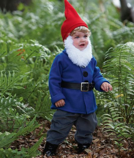 Gnome Kids Costume Looks Like The Travelocity Guy Cute