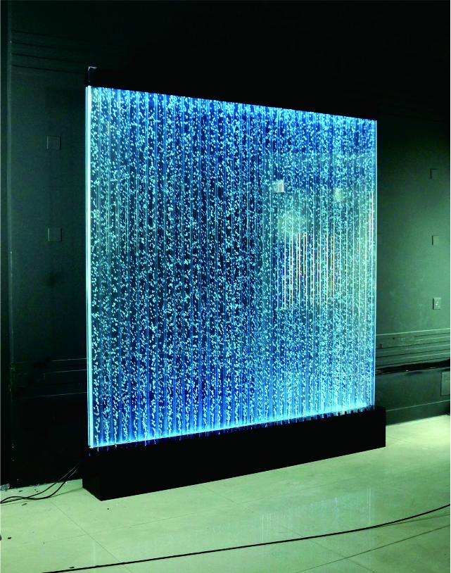 Stunning Unsere Hausgefertigten Wasserw nde mit LED Beleuchtung verzaubern Ihre G ste Diese Wasserwand