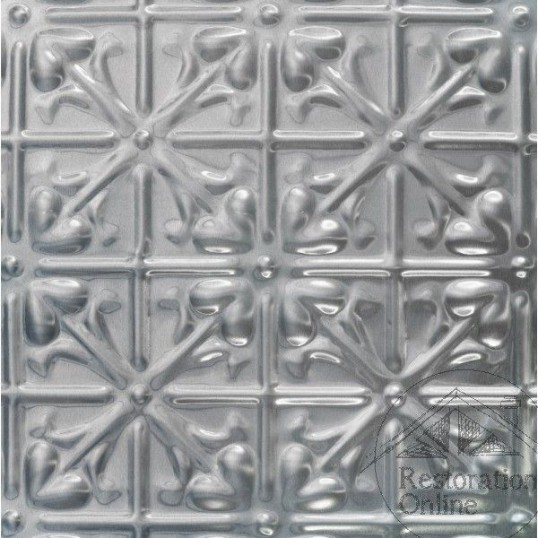 Pressed Metal - Ceiling & Wall Panels - Lachlan Hearts - 900 x 1800 mm