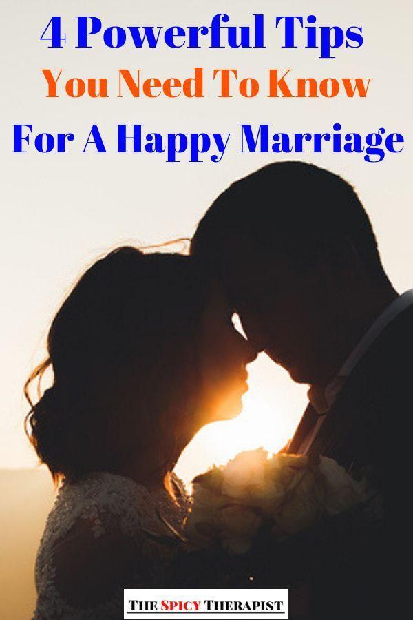 4 dicas poderosas que você precisa saber para um casamento feliz – Ki …   – Marriage
