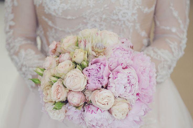 Bridal bouquet | Pink wedding