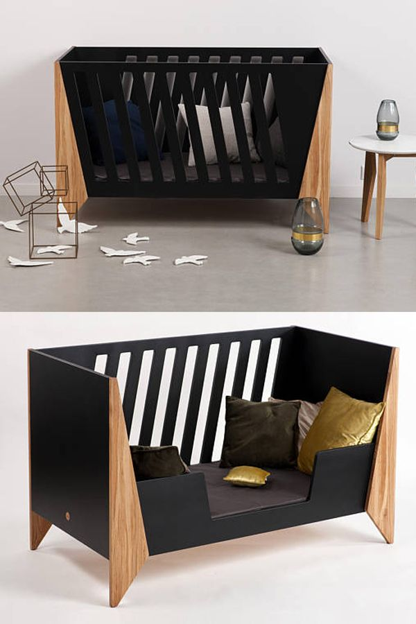 Best Black Baby Crib Modern Nursery Design Unique Infant 400 x 300