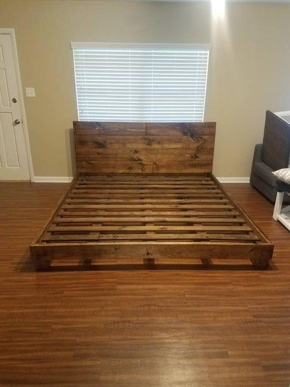 King Size Bed Frame In 2020 King Size Bed Frame Bed Frame Diy