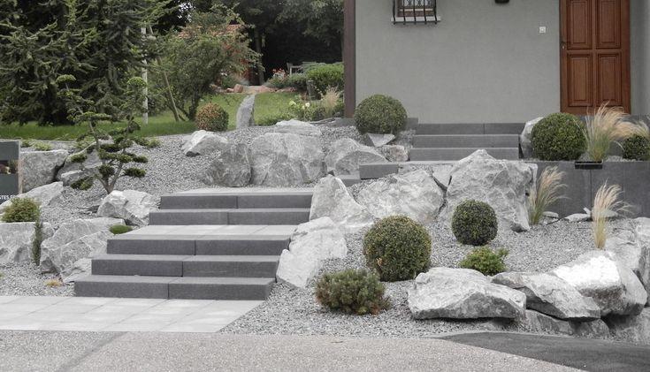Amenagement exterieur entree mittelschaeffolsheim paysagiste alsace bas rhin strasbourg 7 - Terrasse jardin pinterest strasbourg ...