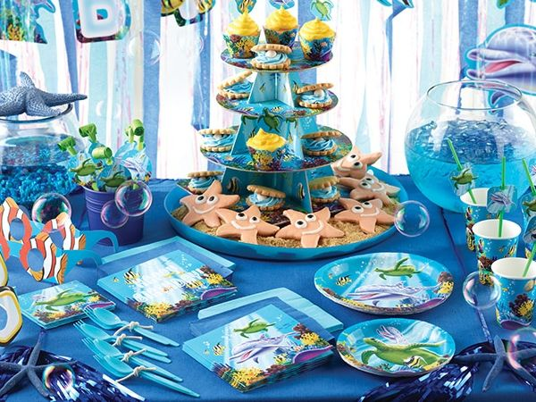 An Under The Sea Birthday Adventure Awaits With This Ocean ...