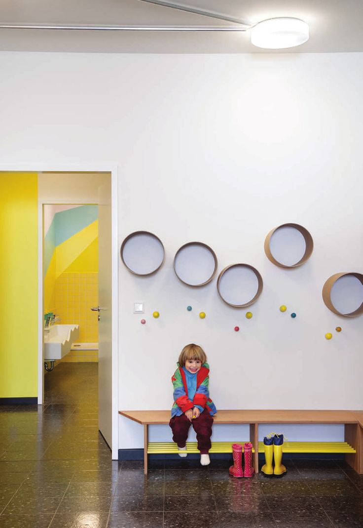 Kindergarten interior design image in 3d - Baukind Have Designed A New Daycare Filled With Fun Creative Touches