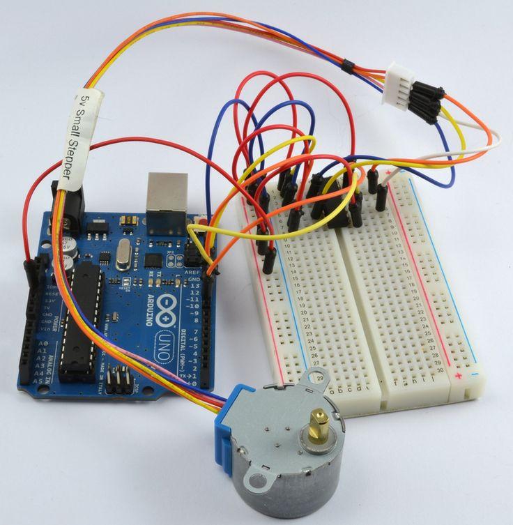 25 best stepper motor arduino ideas on pinterest for Micro servo motor arduino