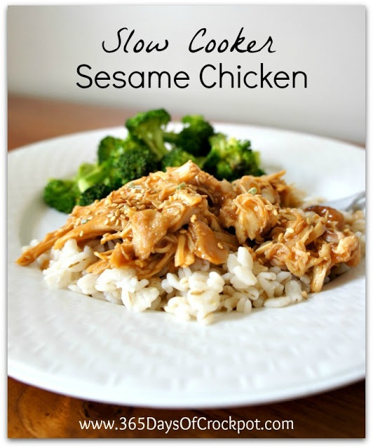 Recipe for Slow Cooker Sesame Chicken