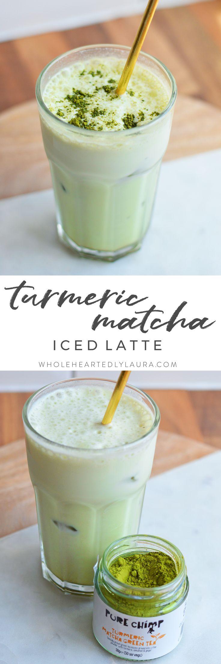 Iced Matcha Green Tea Latte Recipe Matcha green tea