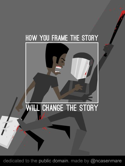 How you frame the story will change the story.