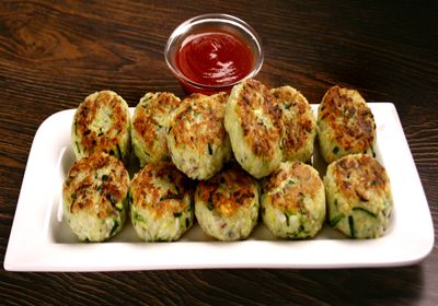 #Rice and #Zucchini #Patties http://www.foodfood.com/recipes/rice-and-zucchini-patties/