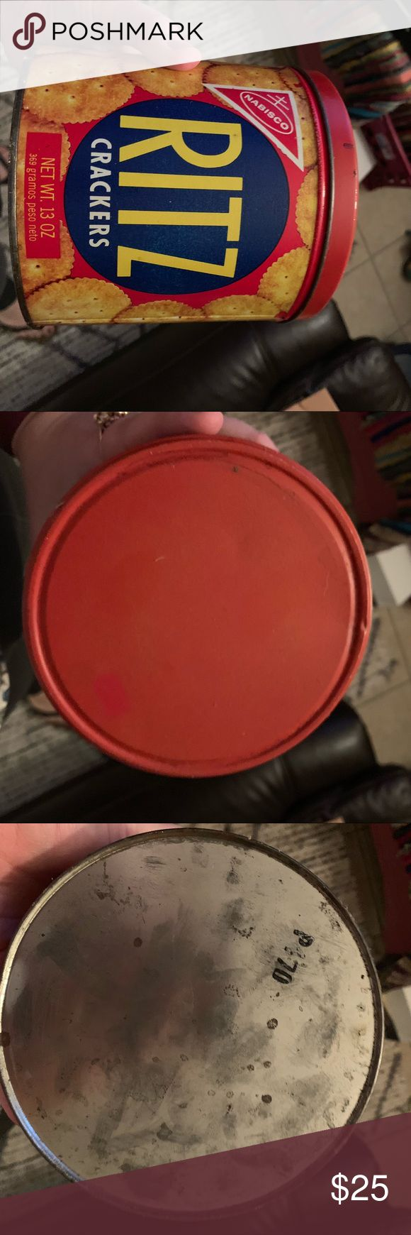 VINTAGE 1977 RITZ TIN Very cute tin from ritz crac…
