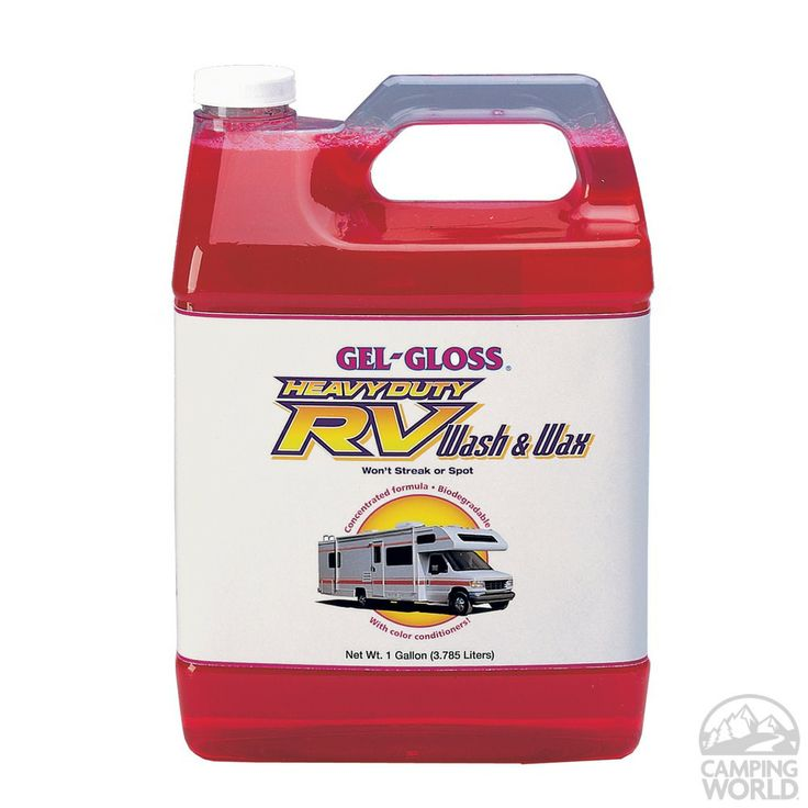 Premium Gel-Gloss Wash and Wax - Gallon - T R Industries WW-128 - RV Cleaners - Camping World